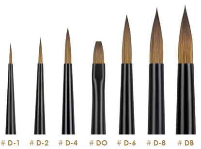 Imagens de DAVID BRUSH DB BIG BRUSH FINEST KOLINSKY